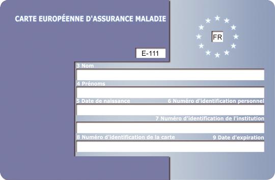 Comment demander une carte européenne d'assurance maladie ?